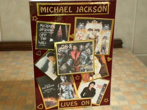 Michael Jackson Card Handcrafted by Little Imp (Craft Bubble User)