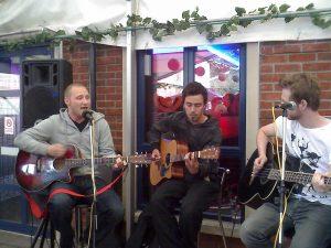 Jon, Rich, and Matt Acoustic At Barhouse, Chelmsford